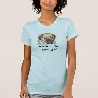 Camiseta Cão engraçado de Puggle