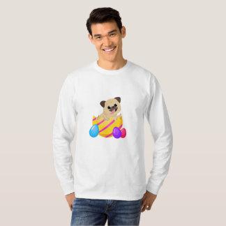 Camiseta Cão engraçado do amor do presente da páscoa do ovo