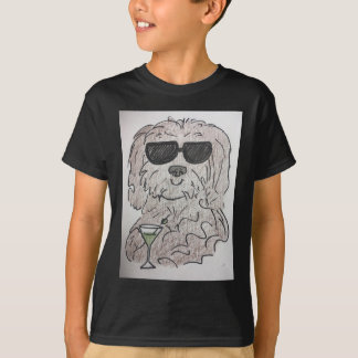 Camiseta Cão martini de Havanese