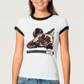 Camiseta Cão selvagem africano por Natasha Bowdoin