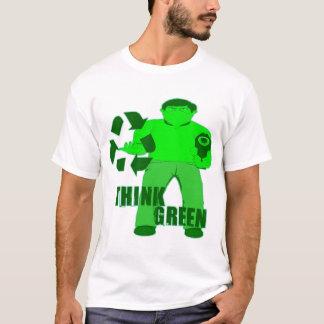 Camiseta CAPA DE MUGGIN -- O ladrão verde