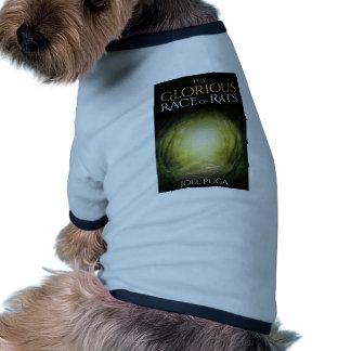 """Camiseta Capa do livro """"da raça gloriosa dos ratos """""""