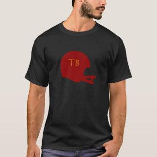 Camiseta Capacete de futebol do vintage de Tampa Bay