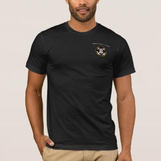 Camiseta Capacete do mergulho e âncoras comerciais de