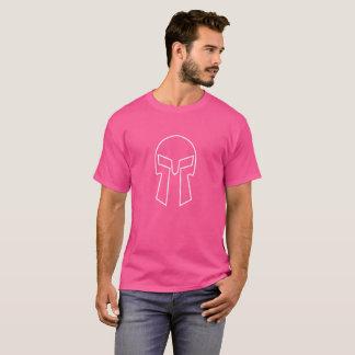 Camiseta Capacete espartano - o t-shirt escuro básico dos