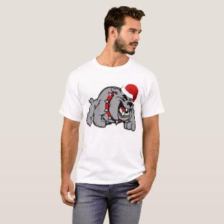 Camiseta Capas básicas do Short do t-shirt do cão do