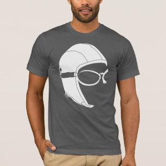 Camiseta Capas t-shirt macio do Short do aviador do