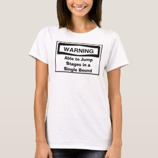 Camiseta Capaz de saltar os palcos no escolhem o limite