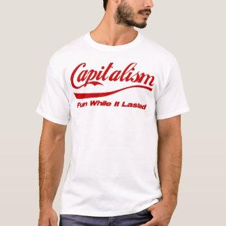 Camiseta Capitalismo: Divertimento quando durou