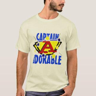 Camiseta Capitão Adorável Engraçado T