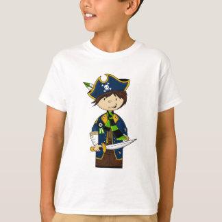 Camiseta Capitão bonito T do pirata