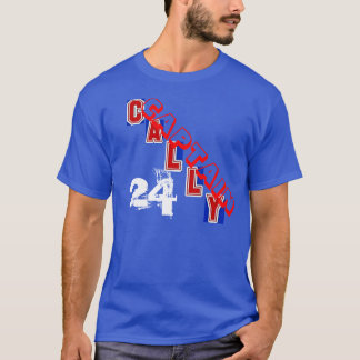 Camiseta Capitão Cally Broadway Blueshirts