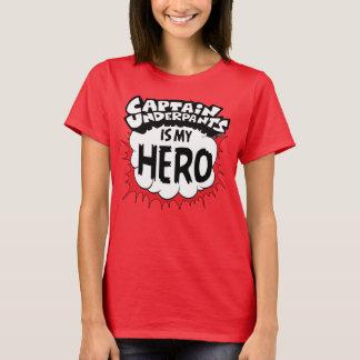 Camiseta Capitão Cuecas | meu herói