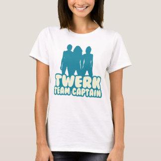 Camiseta Capitão da equipe de Twerk