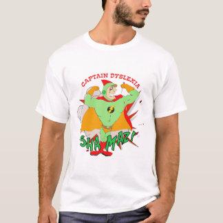 Camiseta Capitão Dislexia T-shirt