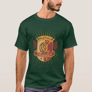 Camiseta Capitão Emble de Harry Potter | Gryffindor