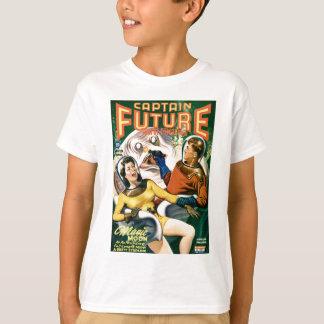Camiseta Capitão Futuro e a lua mágica