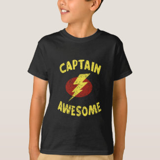 Camiseta capitão impressionante