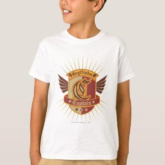 Camiseta Capitão Logotipo de Harry Potter | Gryffindor