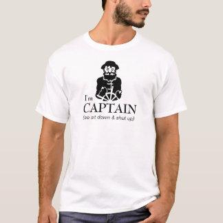 Camiseta Capitão Pescador do barco