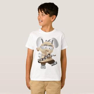 Camiseta Capitão Rato do barco do t-shirt do Hanes TAGLESS®