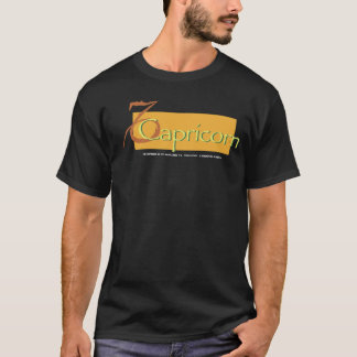 Camiseta Capricórnio do zodíaco