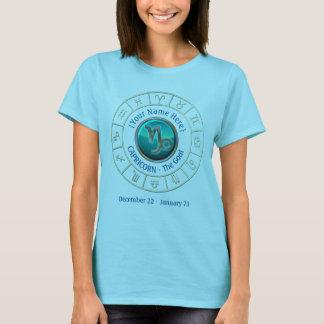 Camiseta Capricórnio - o sinal do zodíaco da cabra