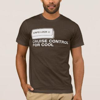 Camiseta capslock - cruise control para legal