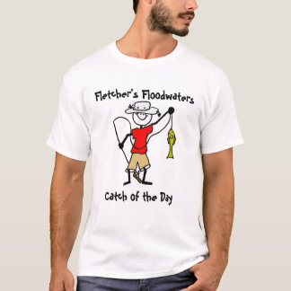 Camiseta Captura das água da enchente de Fletcher do dia