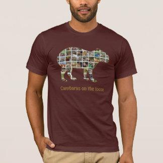 Camiseta Capybaras no fraco