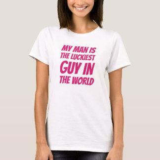 Camiseta Cara afortunada