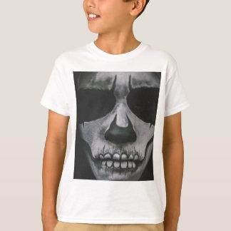 Camiseta Cara assustador preta & branca…