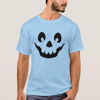 Camiseta Cara da abóbora do crânio