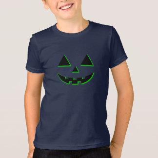 Camiseta Cara da abóbora do Dia das Bruxas