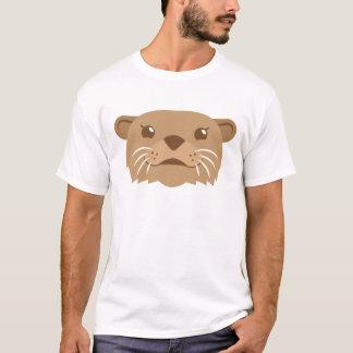 Camiseta cara da lontra