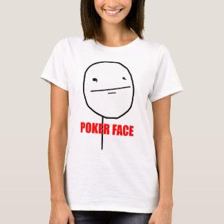 Camiseta Cara de póquer Meme