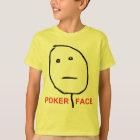 Camiseta Cara de póquer (texto)
