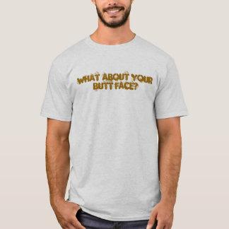 Camiseta Cara do bumbum