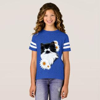 Camiseta Cara do gatinho do smoking