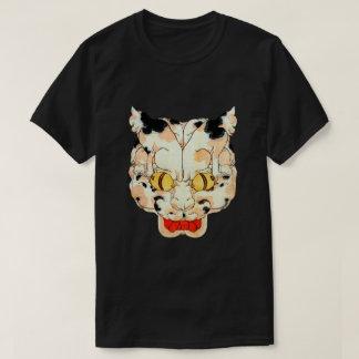 Camiseta Cara do gato, Utagawa Yoshifuji, Ukiyo-e