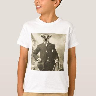 Camiseta cara do lemur