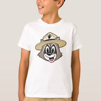 Camiseta Cara do rick da guarda florestal do rick | da
