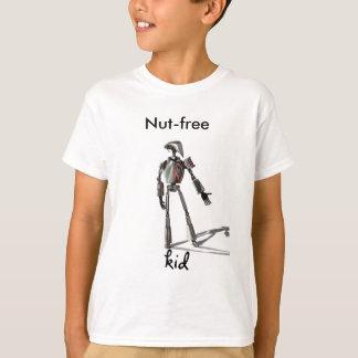 Camiseta Cara do robô - não alimente nenhum loucos