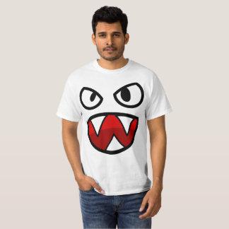 Camiseta Cara do t-shirt do demónio