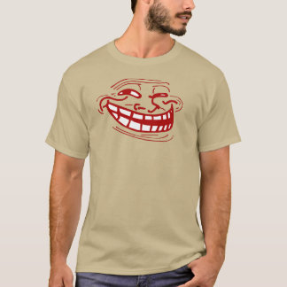 Camiseta Cara do troll