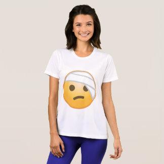 Camiseta Cara Emoji da atadura