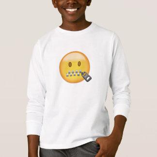 Camiseta Cara Emoji da Zipper-Boca