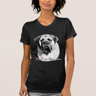 Camiseta Cara feliz do Mastiff