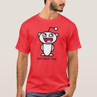 Camiseta Cara impressionante de Reddit