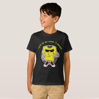 Camiseta Cara legal do T para miúdos